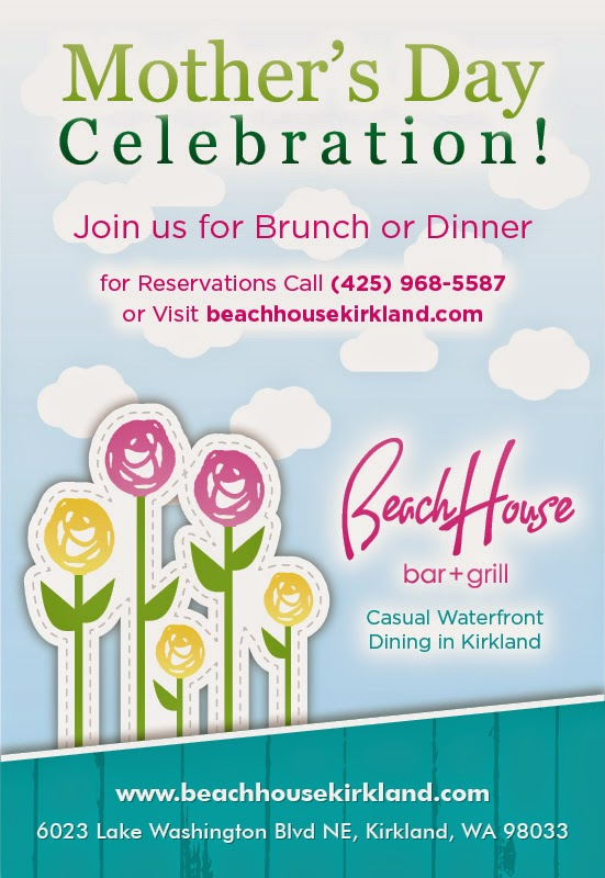 Celebrate Mom at the BeachHouse bar + grill Restaurants