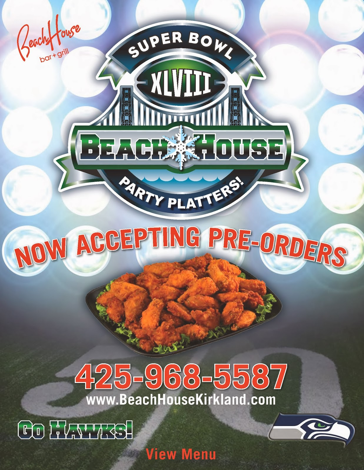 Super Bowl Party Platters! Order NOW!